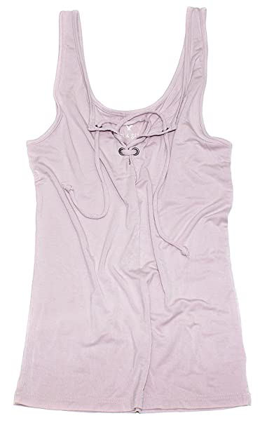 38fe343755e05 American Eagle Women's Soft & Sexy Lace up Tank Top W-13 at Amazon Women's  Clothing store: