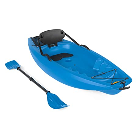 Best Choice Products 6ft Kids Kayak w/Paddle, Cushioned Backrest, Storage Compartment, Wheel