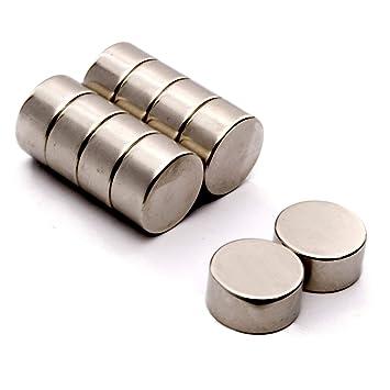 sehr stark seltene Erde rund 25 St/ück 12 x 2 mm N35 Neodym-Magnete