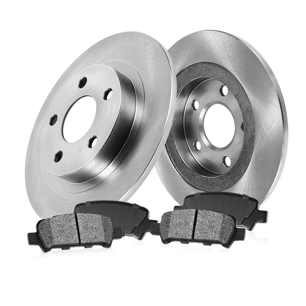 Replacement Parts 2013 Fits Audi A3 TDI Front Ceramic Brake Pads with Hardware Kits and Two Years Manufacturer Warranty