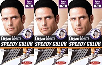 Bigen Speedy 101 - Tinte para cabello (6 unidades), color negro