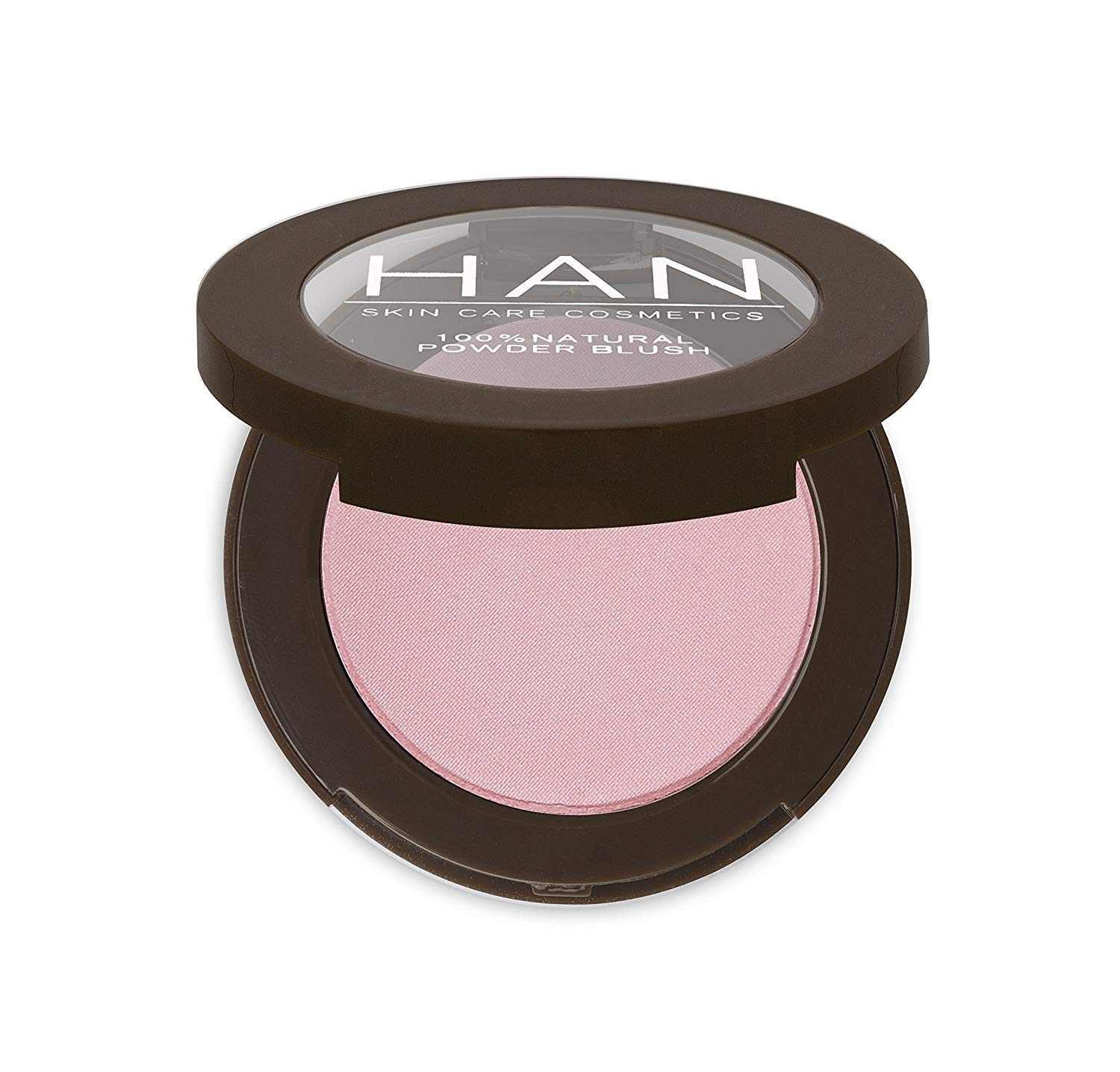 HAN Skincare Cosmetics All Natural Pressed Blush, Baby Pink