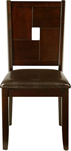 Alpine Furniture Leather Dining Chair