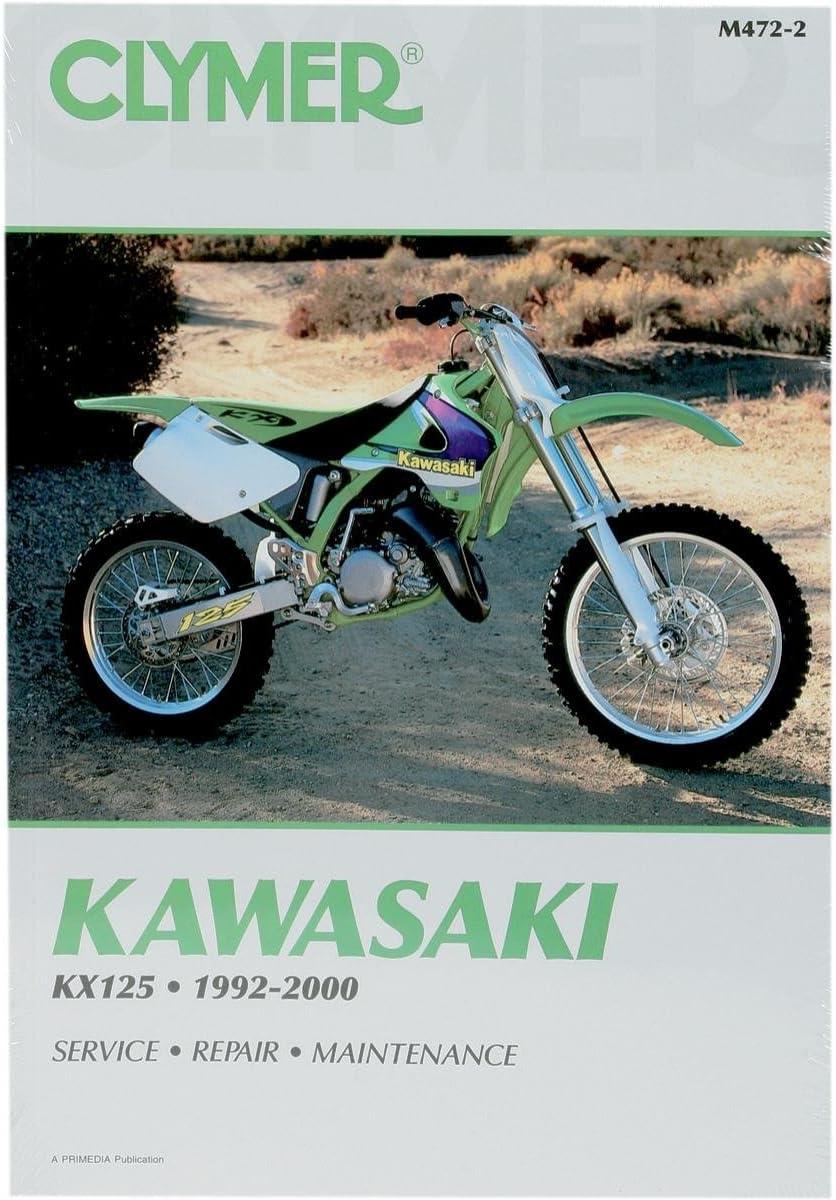 Clymer Repair Manual Kawasaki KX125 1992-2000