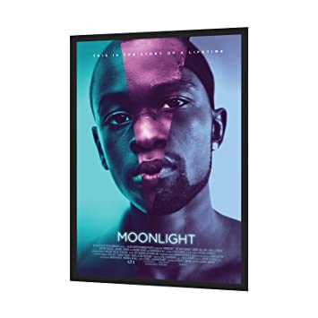 black movie poster frame 24 x 36 inches 125 aluminum profile front loading