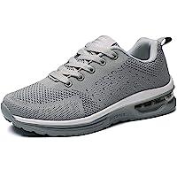 GAXmi Zapatillas Deportivas Mujer Zapatos de Malla Transpirables y Ligeros con Cordones y Cojín de Aire para Running…