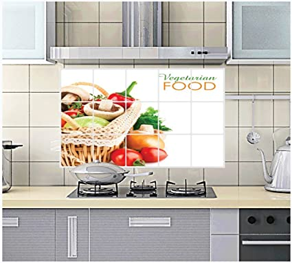 Marvelous Joycentre Removable Kitchen Oil Proof Decal Sticker Heat Interior Design Ideas Truasarkarijobsexamcom