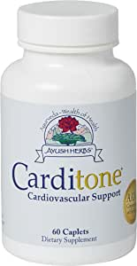 Carditone, Unbeatable Blood Pressure and Cardiovascular Support Herbal Supplement, 60 Count by Ayush Herbs