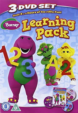 Barney - Learning Pack triple pack DVD 2011 Reino Unido: Amazon.es ...