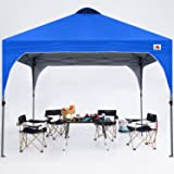 ABCCANOPY Outdoor Pop up Canopy Tent 10x10 Camping Sun Shelter-Series,Blue