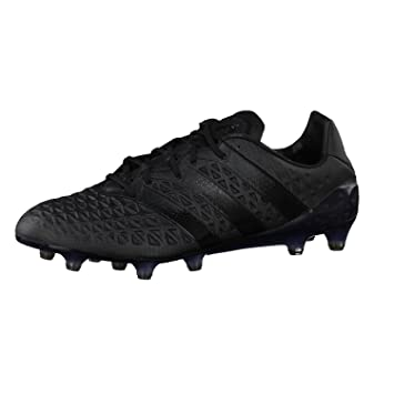 huge discount 41794 04332 Ace 16.1 Fluid Black FG/AG Football Boots - size 8: Amazon ...