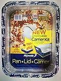Reynolds Bakeware, Designer Pan+Lid+Carrier (2 pack)