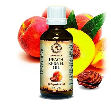 Aceite de Semilla de Durazno 50ml - Prunus Persica - Italia - 100% Puro y