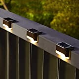 Solpex Solar Deck Lights Outdoor 16 Pack, Solar Step Lights Waterproof Led Solar Lights for Outdoor Stairs, Step , Fence…