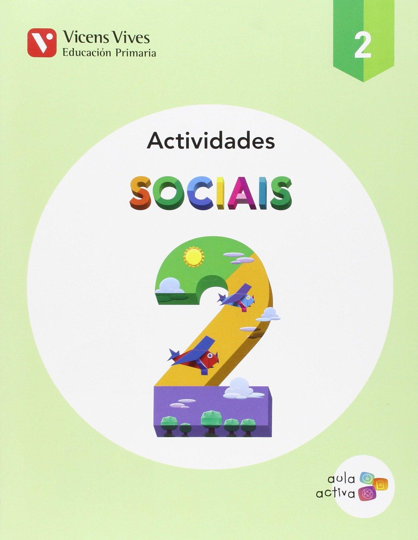 SOCIAIS 2 ACTIVIDADES AULA ACTIVA : 000001 - 9788468230214: Amazon.es: Equipo Editorial, Equipo Editorial: Libros