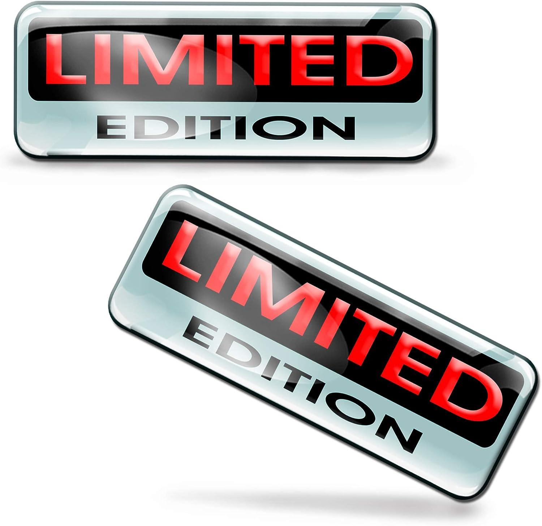 2/x Autocollants 3D Gel r/ésine Stickers Rigolo Limited Edition pour Voiture Moto finestr/ìno Porte Casque Scooter Skateboard v/élo PC Ordinateur Portable Tablette Tuning et 144