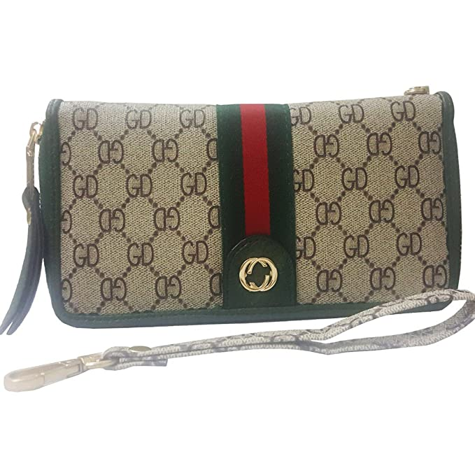 Women Wallet on Sale PU Vegan Leather Clutch Handbag RFID Zipper ... 8e06f48f6f465
