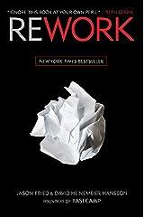 Rework Hardcover