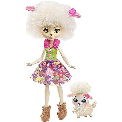 Enchantimals Doll - Lorna Lamb with Hair Accessory: Toys & Games