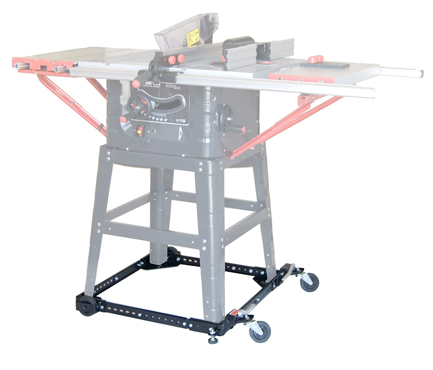 Move Your Heavy Tools and Equipment Around Your Shop with Ease and Stability. Adjustable Universal Mobile Base Portamate PM-1000