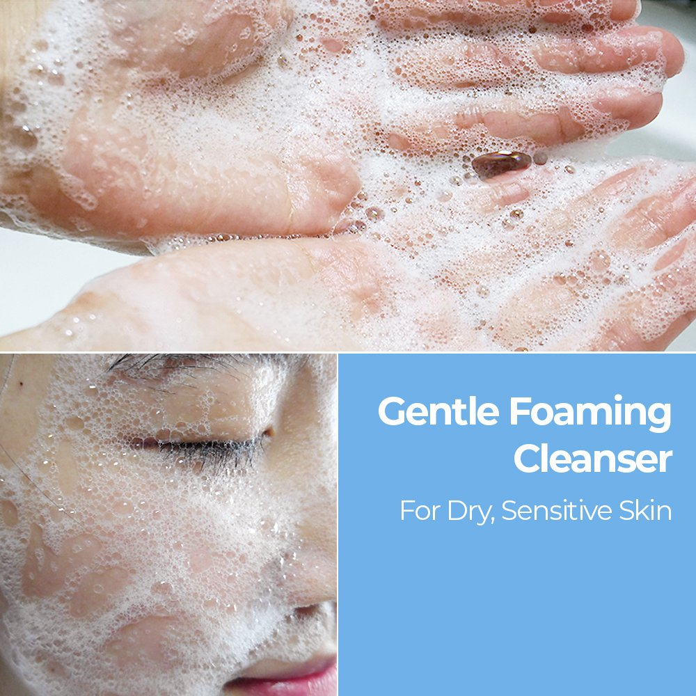 MOTHER MADE CERACell Gentle Foaming Cleanser for Face 7 fl oz  NonDrying Nonirritating Mildly Clears