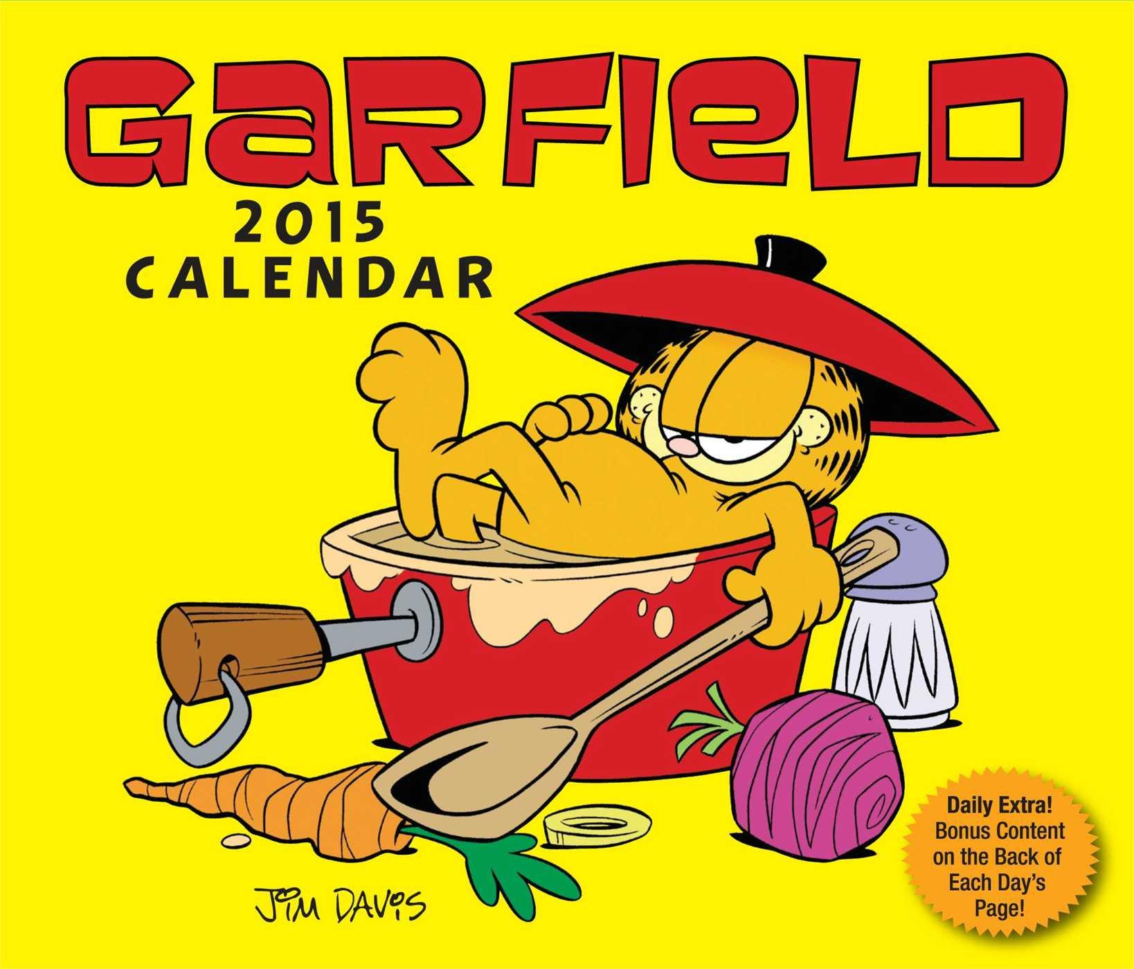 Garfield 2015 Day-to-Day Calendar