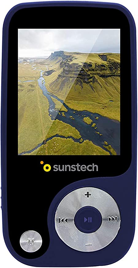 Sunstech Thorn - Reproductor de MP3 (4 GB de capacidad) color azul