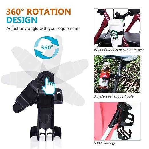 Amazon.com: oasisspace andador movilidad portavasos: Health ...