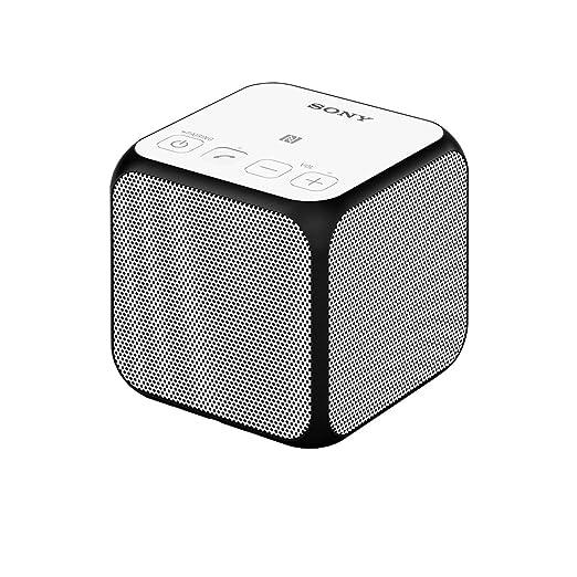 278 opinioni per Sony SRS-X11 Speaker Wireless Portatile, Potenza 10W, Bluetooth, NFC, Bianco