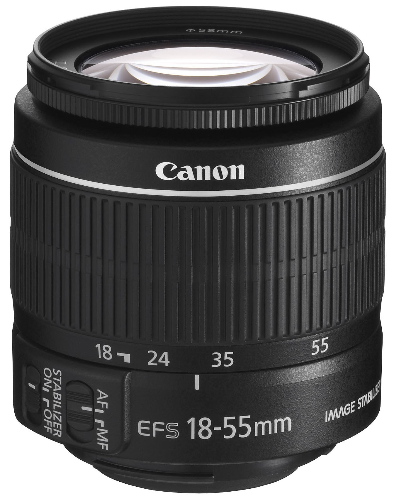 Canon EF-S 18-55mm f/3.5-5.6 IS II SLR Lens - Mark II (White Box) by Canon