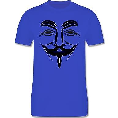 Nerds & Geeks - Anonymous Namenlos Hacker - Herren T-Shirt Rundhals:  Shirtracer: Amazon.de: Bekleidung