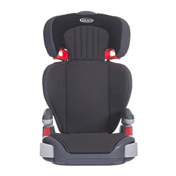 Graco Junior Maxi Lightweight Highback Booster Car Seat Group 2 3 Midnight Black