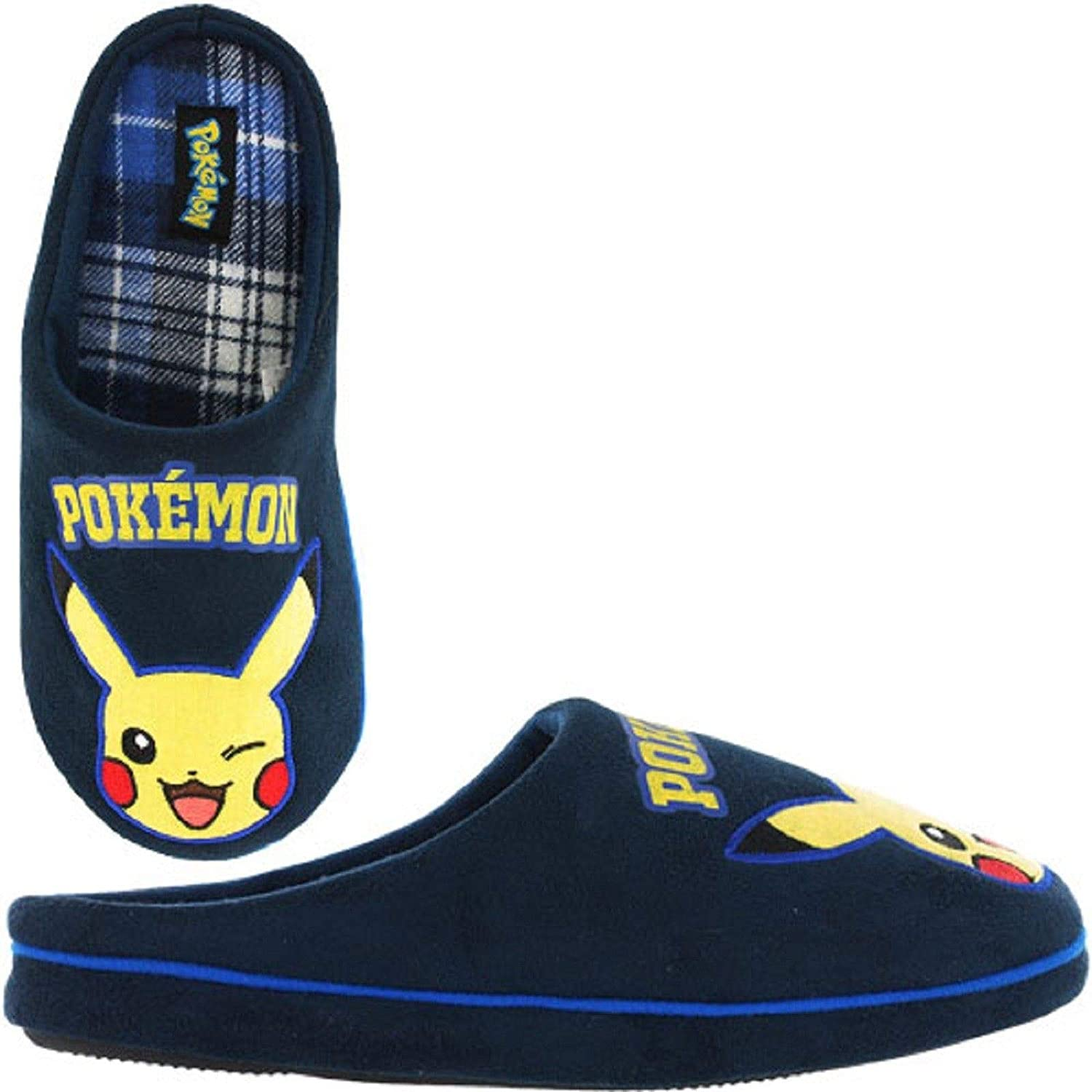 Slippers Pokemon Mens Pikachu Bulbasaur Charmander Squirtle Mule ...