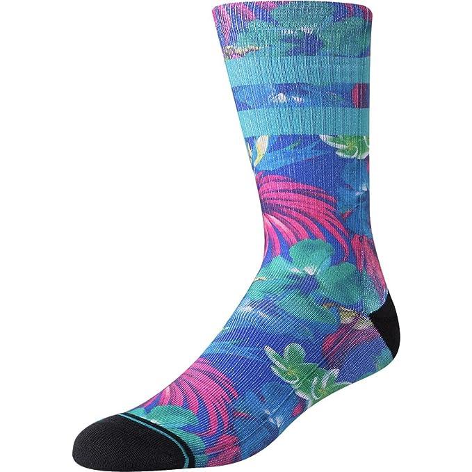 Blue Medium Stance Pau Socks