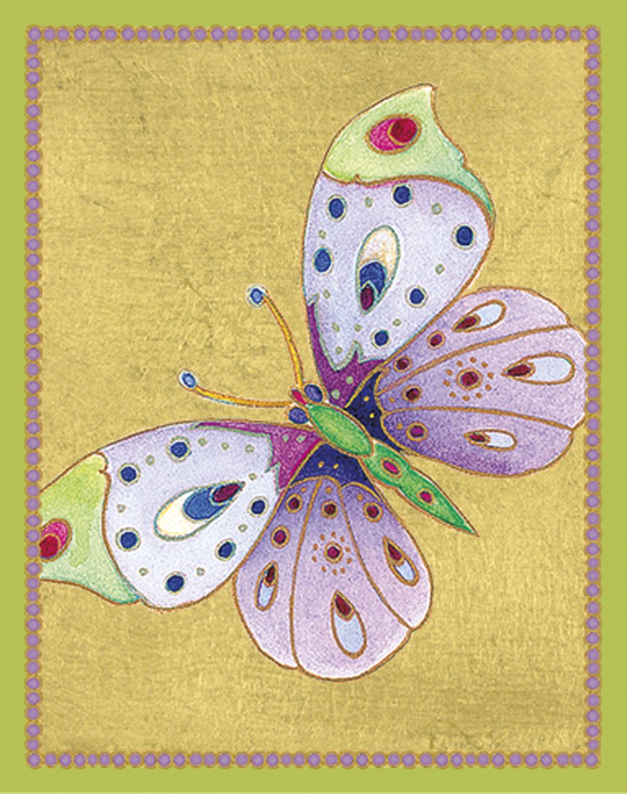 Caspari bt117 – Bridge Tal Lies, Jeweled Butterflies gioco di carte