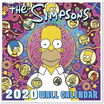 2020 The Simpsons (DDD9862820) Calendario de pared: Amazon.es: Oficina y papelería