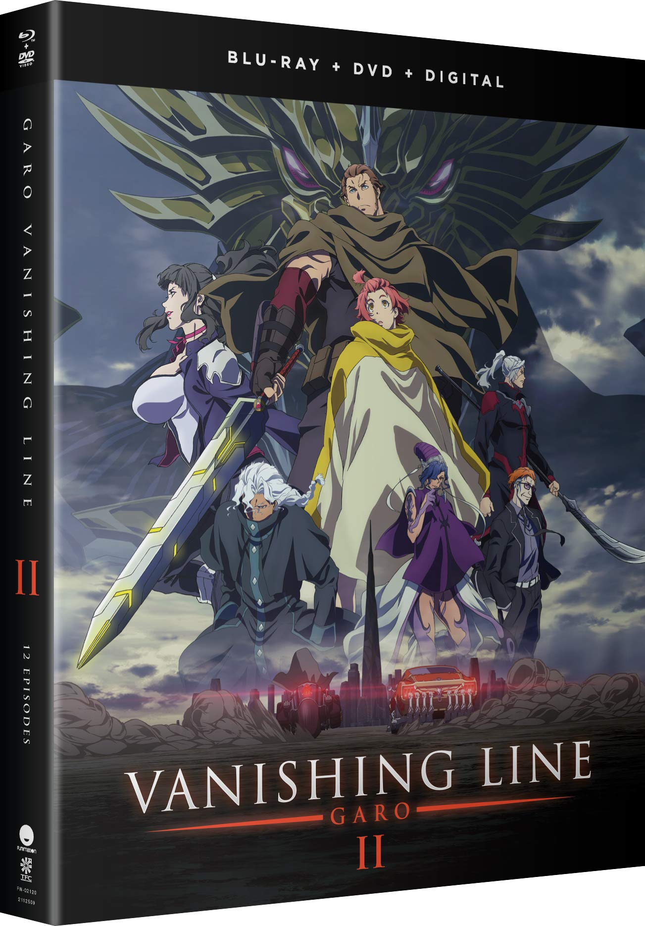 Blu-ray : Garo: Vanishing Line - Part 2 (With DVD, Boxed Set, Subtitled, Digitally Mastered in HD)