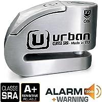 Urban Security UR14S Candado Antirrobo Disco con Alarma