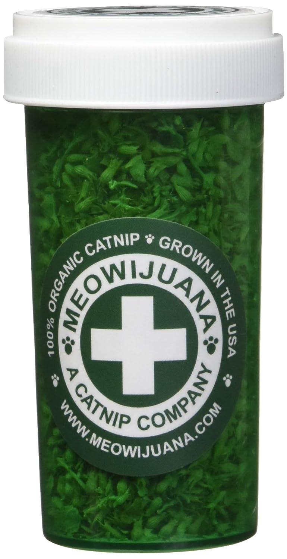 Small Meowijuana Meowi-Waui Catnip Leaf and Flake, Small Bottle