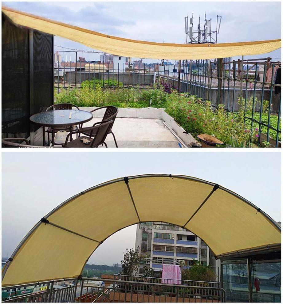 Toldo Vela Rectangular, Vela de Sombra Toldos de Jardín Sombreado Net Sombra Tela Pérgola Patio Toldos Resistente A Los Rayos UV Red para Gazebo Aire Libre Terraza Patio Decoración Fiesta Protección P: