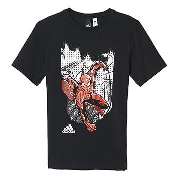 Adidas Spidey In NY Camiseta de Manga Corta, Niños: Amazon.es: Deportes y aire libre