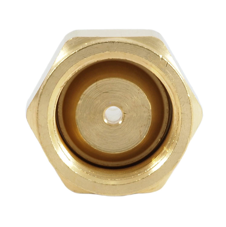 Forney 87801 Acetylene Regulator Adaptor CGA 520 To CGA 200 B Tank ...