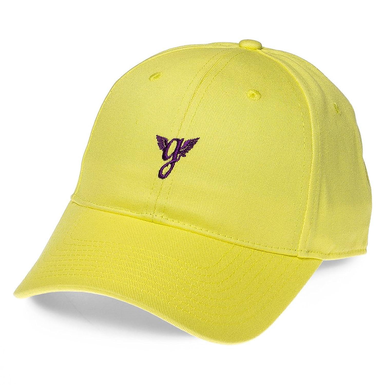 Grimey GORRA HERITAGE CURVED VISOR CAP SS18 YELLOW-STRAPBACK ...