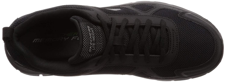 messieurs et mesdames mesdames mesdames sketchers 52631-bbk Noir  excellente valeur nouveau respirable chaussures 033a08