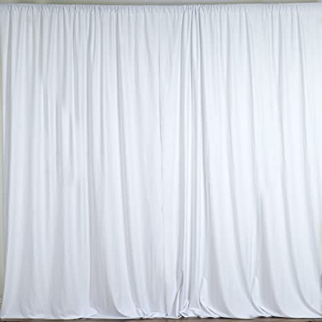 gray and white curtain panels long flowy white balsacircle 10 feet white polyester backdrop drapes curtains panels wedding ceremony party amazoncom