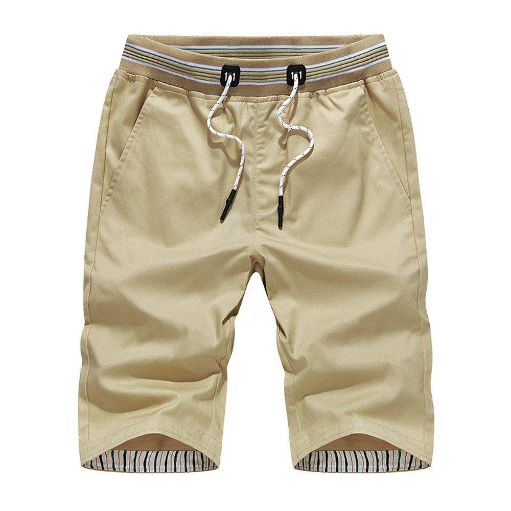 Gusspower Pantalones Cortos Hombre Baratos, Verano Moda Pantalones Cortos De Fitness para Hombre Culturismo Pantalones…