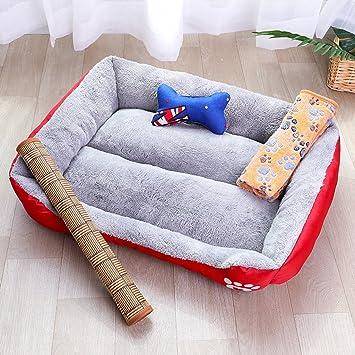Cama para mascotas Nido de perro Nido de perro Totalmente lavable Four Seasons Universal Color caramelo