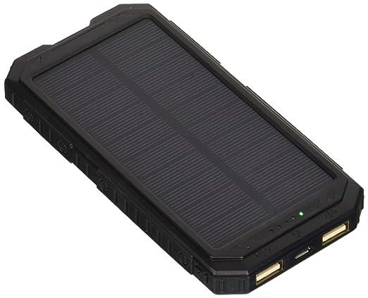 Amazon.com: ADDTOP - Cargador solar de 12000mAh, Banco de ...