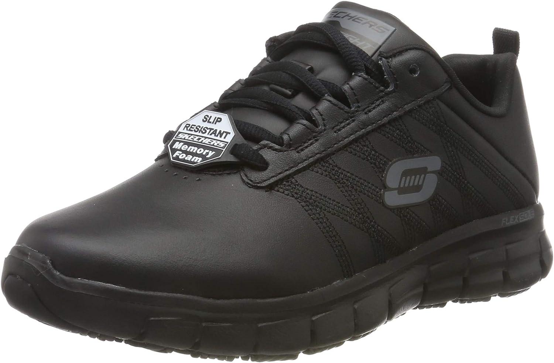 Skechers Sure Track Erath - II, Zapatillas sin Cordones para Mujer