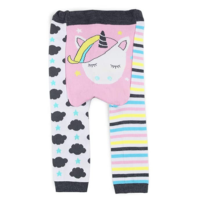 2a936a4394f Dotty Fish Baby   Toddler Wooly Leggings. Dreamy Unicorn. Stripes and  Clouds. White